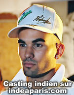 Laurent Reims pour Casting Indien sur indeaparis.com