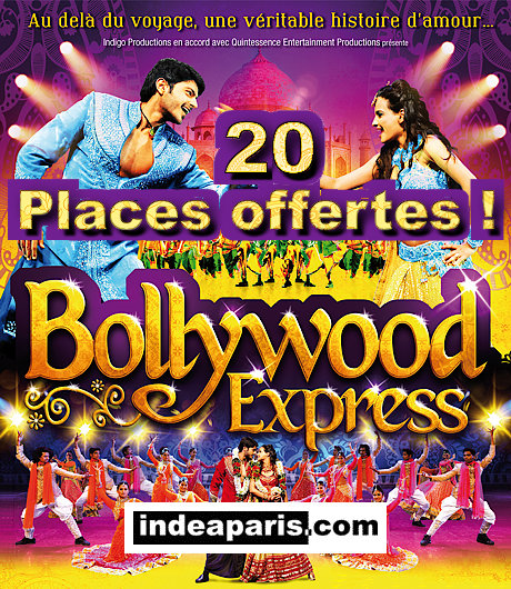 Bollywood Express 2014 20 places offertes !